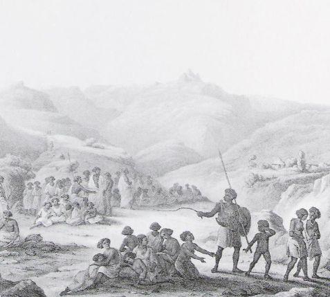 AFRICA esclavos etiopia
