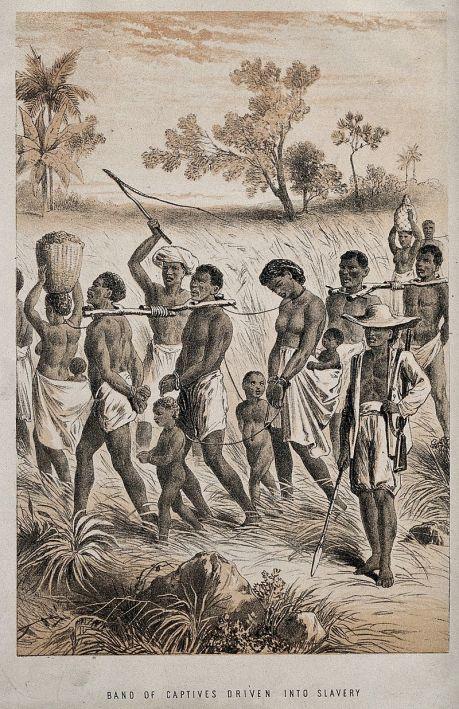 africanos esclavizan africanos