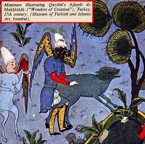 creacion de los negros segun turcos
