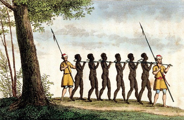 esclavos negros amos arabes
