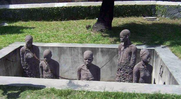 monumento esclavos zanzibar