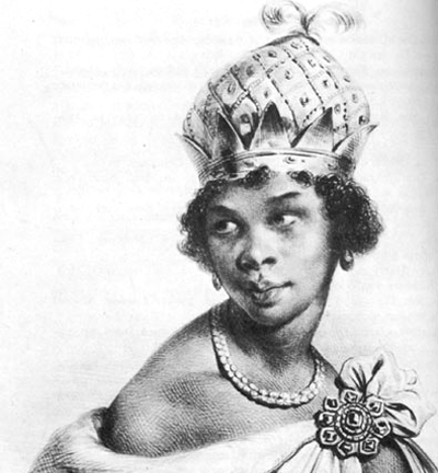 reina Nzinga of Angola