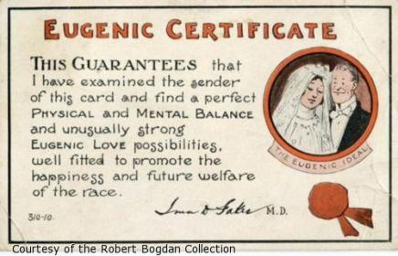 certificado eugenesico matrimonio