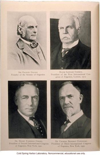 congreso internacional presidentes y francis galton