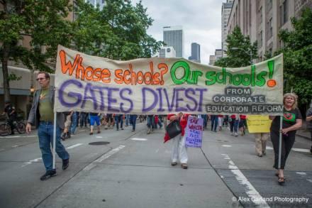 protesta gates common core
