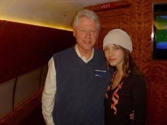 Bill Clinton Foto tomada por Rachel Chandler